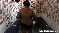 Mallu Indian Bhabhi Taking Shower Filmed By Her Husband