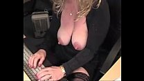 big nipples big clitoris busty mature blonde am...
