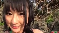 Megumi Haruka tries cock in mouth and in pussy