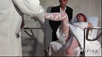 Amateur hairy french mature bride hard analized...