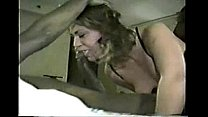 husband films very horny wife with 2 black guys
