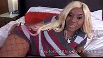 Black Teen Kakey gives superb head in Ebony Blo... Thumbnail