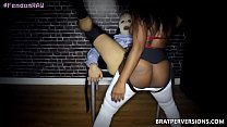 Ebony Babe First Pegging Experience Thumbnail