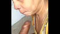 Indian desi girl sucking big dick deep throat