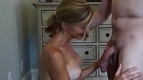 Gorgeous cuckold wife takes facial Thumbnail