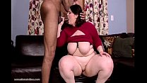 BIg Booty BBW Melody Monroe Fucks Her First Bla...