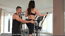 Aletta Ocean fucks at the gym - more videos: ht...