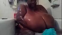 SSBBW black amateur MsBinthere shower Part 2 Thumbnail