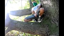 Gay teen boy wanked in woods Thumbnail