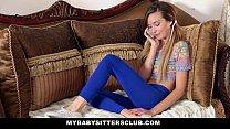 MyBabySittersClub - Skinny Baby Sitter Caught M... Thumbnail