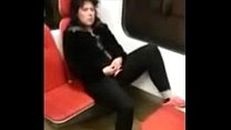 milf masturbate in train