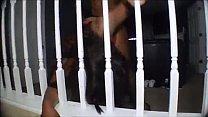 Black Mature doggystyle pounding hard