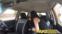 Fake Driving School readhead teen and busty MIL...