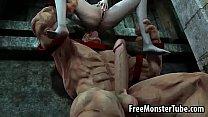 ปีศาจหัวโล้นจับสาวยกเอาลิ้นเบิร์นหอย แล้วเอาควยแทงตามท่ายากเสียวเหลือเกิน