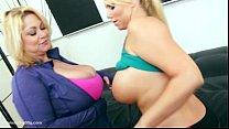 Samantha 38G and Karen Fisher Share Huge Cock