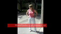 MarieRocks 50 Plus MILF - Sexy Undressing