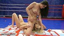 Nude Fight Club Presents: Larah vs. Diana Stewart