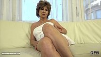 Granny has sex with black man and enjoys ass drilling and cum licking