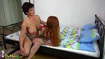 Redhead girl and mom masturbating with sextoy