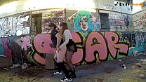 Download video bokep World's first public pegging compilation! (FEMD... 3gp terbaru