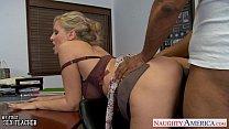 Blonde teacher Julia Ann fucking a BBC Thumbnail