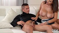 Insatiable Milf Sensual Jane sucks his dick & g...