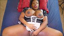 Naughy Ebony BBW MAID Never Does Any Work Thumbnail