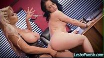 (Kristina Rose & Bridgette B) Teen Lez Girl Get...