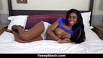 TeenyBlack - Oiled Up Ebony Loves To Fuck Thumbnail