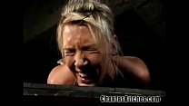 Lesbo Slave in Hell!