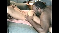 Black chubby with huge cock