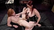 Big ass slave got hard whipped