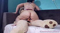 Play Time with Kiwwi - Teddy Bear Fuck! Thumbnail