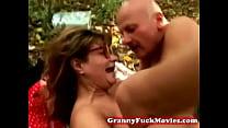 granny fucked by her boyfriend Thumbnail