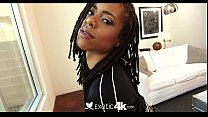 Exotic4K - Skinny black beauty Kira Noir takes ...