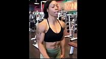 Ebony Milf I met on Snapebony.com Muscles's Thumb