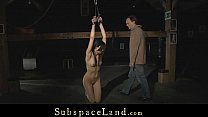 Painful punishment for a hardcore slave bitch Thumbnail