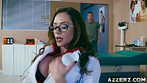 MILF Dr Ariella Ferrera bangs with a hot patient