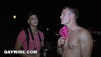 GAYWIRE - Drago Lembeck Anal Pounding A Tourist... Thumbnail