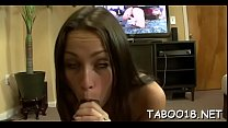 Fascinating teen knows how to stroke and suck an eager dick