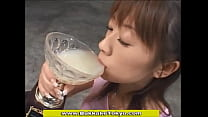Japanese Cum Drinking Champion