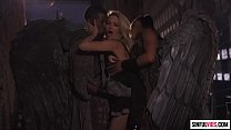 Threesome with black angels: Jessica Drake, Mis...