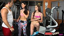 India Summer and Bella Skye hot threeway sessio...