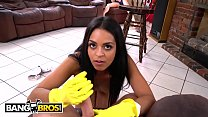 BANGBROS - Sexy Maid Vienna Black Cleans House ...