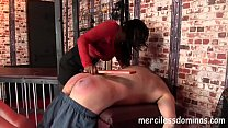 Do You Submit? - Mistress Bounty spanked her slave Thumbnail