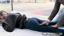 Hot Mey Madness Plays with a Powerful Vibrator in Public Thumbnail