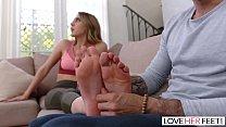 LoveHerFeet - Sucking And Foot Fucking My Super...