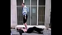 Girl from J'burg Public Trample in Camden Thumbnail