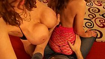 POV Double Lapdance From Kylee Nash and Alex Coal