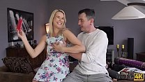 DADDY4K. Aroused chick allows old dad to analyze her in various ways Thumbnail